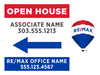 RE/MAX® Open House Signs