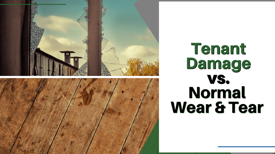 Tenant Damage vs. Normal Wear & Tear | San Diego Landlord Advice
