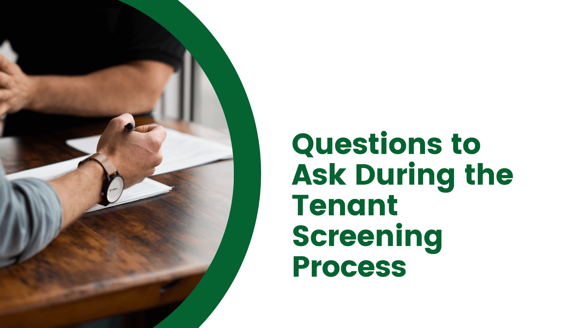 Questions to Ask During the Tenant Screening Process | San Diego Landlord Advice - article banner