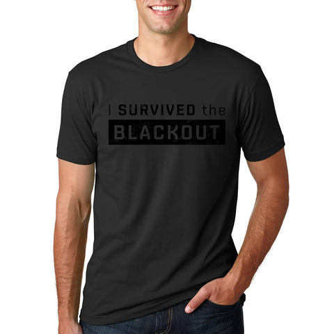 I Survived the Blackout Tshirt