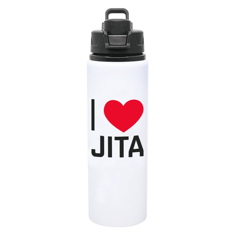 I Love JITA Water Bottle