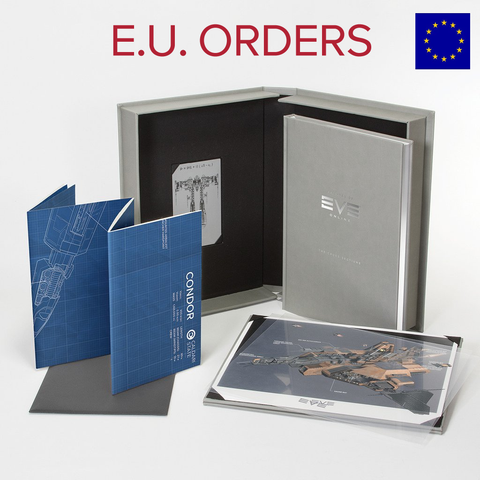 European Customers: Frigate of EVE Book- LIMITED EDITION