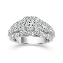 Load image into Gallery viewer, 2.00 Carat Diamond Engagement Ring in 14K White Gold (I-J,I1)