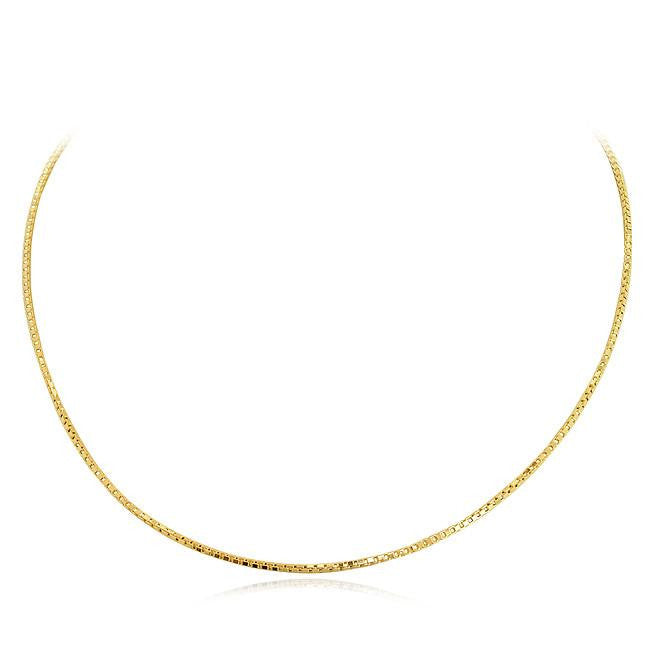 14K Yellow Gold 1.4 mm Box Chain