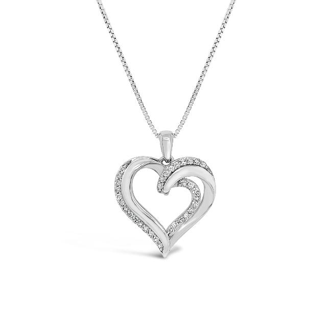 14_Carat_Diamond_Heart_Pendant_in_Sterling_Silver__18