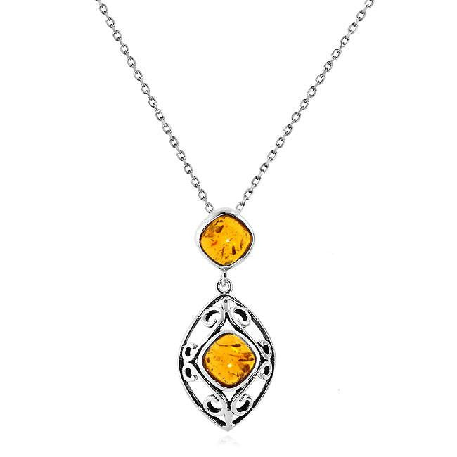 amber gold pendant jens hansen products