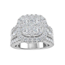 Load image into Gallery viewer, 3.00 Carat Lab-Grown Diamond Engagement Ring in 14K White Gold (G-H/SI1)