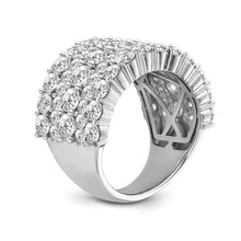 Load image into Gallery viewer, 5.00 Carat Diamond Fashion Ring in 14K White Gold