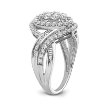 Load image into Gallery viewer, 1.00 Carat Diamond Fashion Ring in 10K White Gold