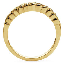 Load image into Gallery viewer, 1/10 Carat Diamond Swirl Band in 14K Gold/Sterling Silver