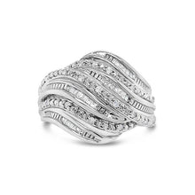 Load image into Gallery viewer, 1/4 Carat Diamond Fashion Ring in Sterling Silver