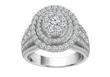 Load image into Gallery viewer, 2.00 Carat Diamond Engagement Ring in 10K White Gold (H-I/,I1-I2)