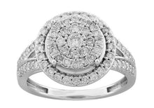 Load image into Gallery viewer, 1.00 Carat Diamond Engagement Ring in 10K White Gold (H-I,I2)