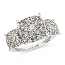 Load image into Gallery viewer, 1.50 Carat Diamond Engagement Ring in 10K White Gold (H-I,I2)