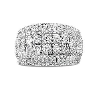 2.00 Carat Diamond Anniversary Band in 14K White Gold
