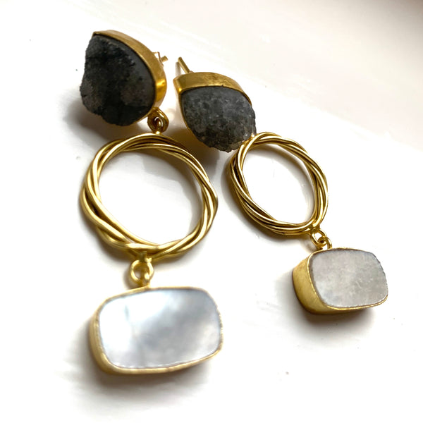 Piya Grey Earrings