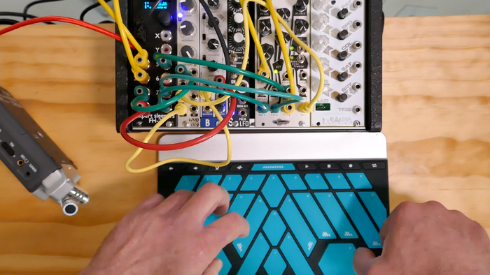 Working with Modular Synths and the Morph