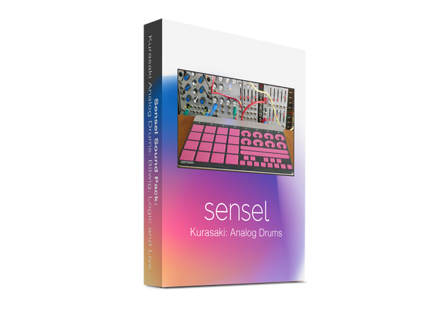 Kurasaki: Analog Drums (Live, Bitwig, Logic, Reason, samples)