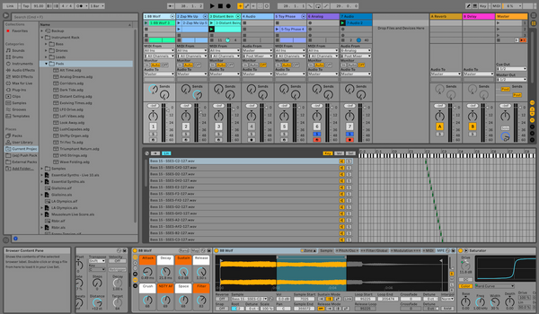 Analog Essentials MPE: Ableton Live or Logic Pro X