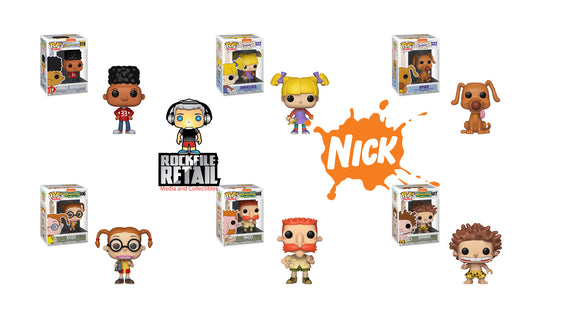 Funko POP! 90's NICK Figures are coming soon!