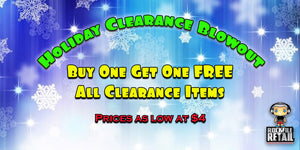 HOLIDAY CLEARANCE BLOWOUT