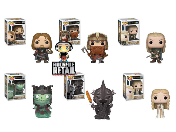LORD OF THE RINGS Funko POP!s Series 4