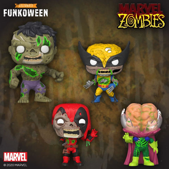 FUNKO POP MARVEL ZOMBIES