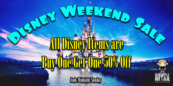 DISNEY WEEKEND SALE