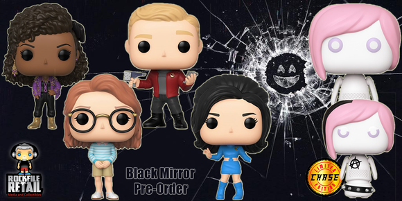 FUNKO POP! BLACK MIRROR Coming Soon