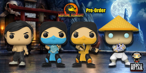 Funko POP! MORTAL KOMBAT Coming Soon