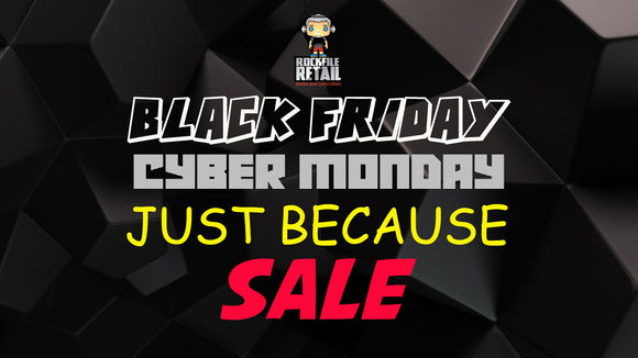 BLACK FRIDAY / CYBER MONDAY SALE