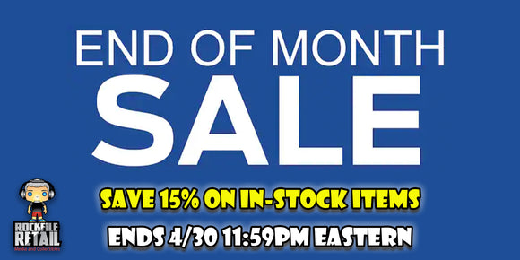 END OF THE MONTH SALE
