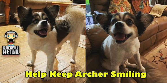 HELP KEEP ARCHER SMILING