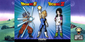 FiGPiN DRAGON BALL Z and DRAGON BALL SUPER