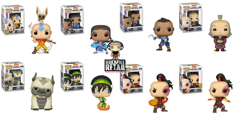 Finally! Funko POP! Animation AVATAR: THE LAST AIRBENDER Figures are Coming Soon