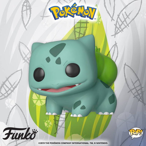 Funko POP! Pokémon: BULBASAUR is coming soon!