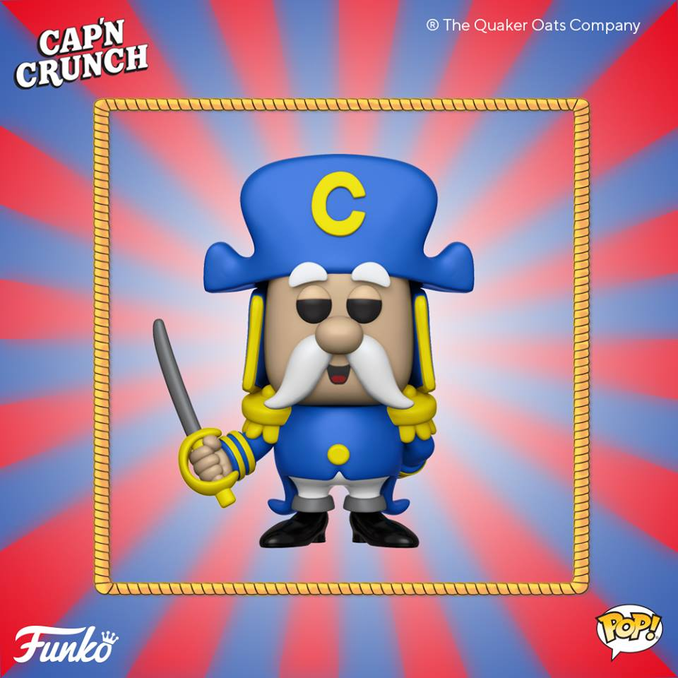 Pop! Ad icon: Quaker Oats - Cap'n Crunch®is coming soon!