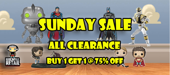 SUNDAY SALE 10/6