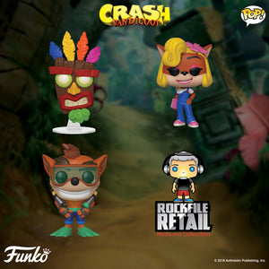 Funko POP! CRASH BANDICOOT Series 2 is coming