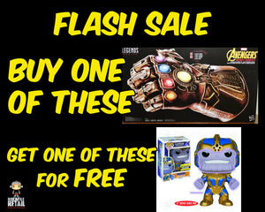 GIMME THANOS FLASH SALE