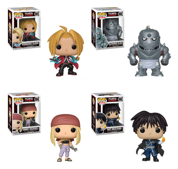 FULLMETAL ALCHEMIST Funko POP!s are finally coming!