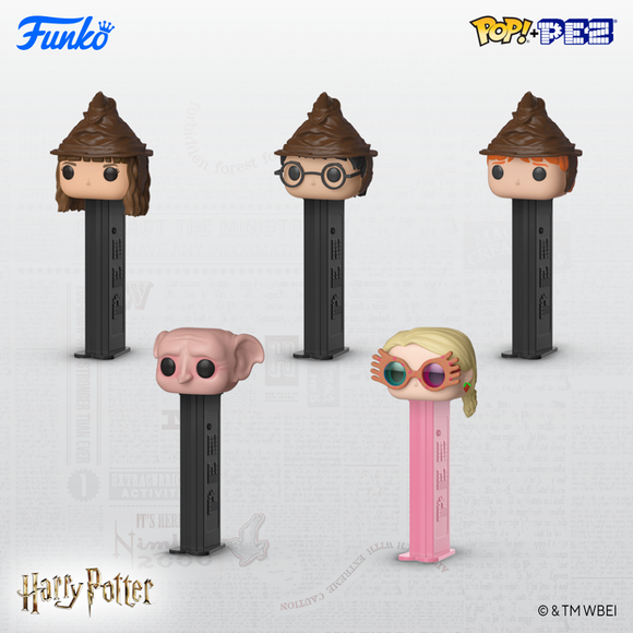 Funko Pez HARRY POTTER Coming In February