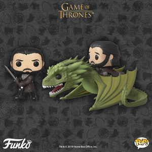 NEW JON SNOW and RHAEGAL FUNKO POP!s Coming Soon