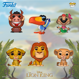 More Funko POP! Figures from The Lion King are on the way!