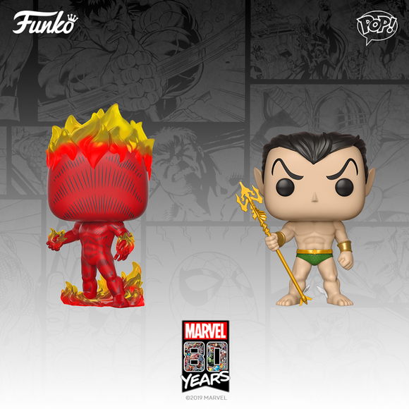 MARVEL'S 80TH ANNIVERSARY FIRST APPEARANCE POP!s