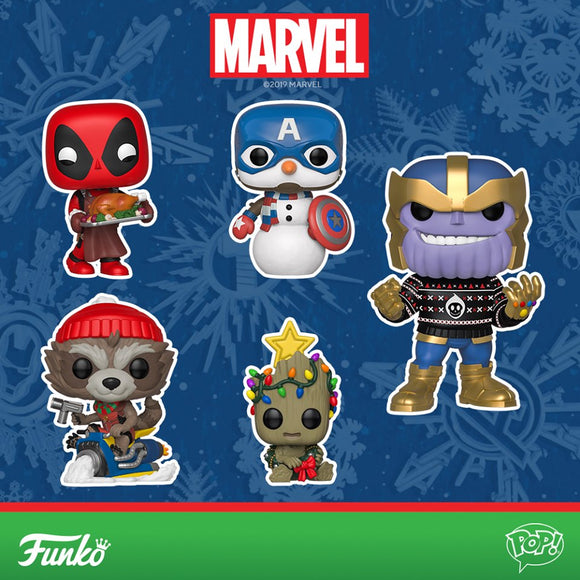 MARVEL HOLIDAY POP!s 2019