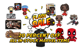 FLASH SALE 20% Off All Marvel
