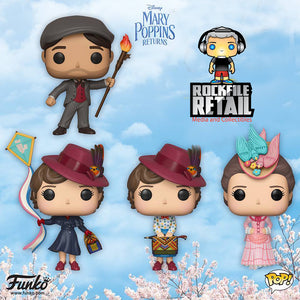 Disney's MARY POPPINS RETURNS gets POP!s, VYNL. and ROCK CANDY