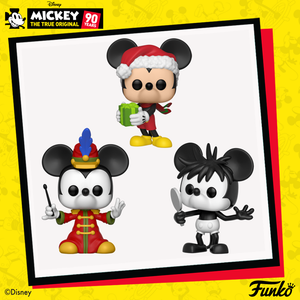 More POP!s for MICKEY MOUSE'S 90th are on the way