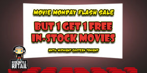MOVIE MONDAY FLASH SALE April 8th